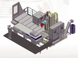 Eumach MB travelling column Machining Centre - picture2' - Click to enlarge