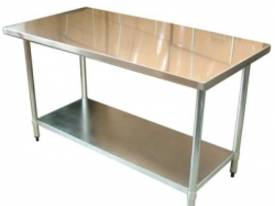 Brayco 3060 Flat Top Stainless Steel Bench (762mmW - picture0' - Click to enlarge