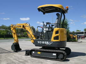 Yuchai YC18SR (Zero Swing) Mini Excavator - picture0' - Click to enlarge