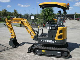 Yuchai YC18SR (Zero Swing) Mini Excavator - picture13' - Click to enlarge