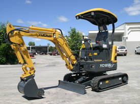Yuchai YC18SR (Zero Swing) Mini Excavator - picture12' - Click to enlarge