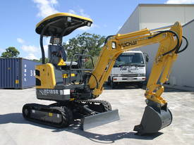 Yuchai YC18SR (Zero Swing) Mini Excavator - picture11' - Click to enlarge