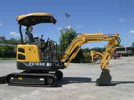 Yuchai YC18SR (Zero Swing) Mini Excavator - picture8' - Click to enlarge