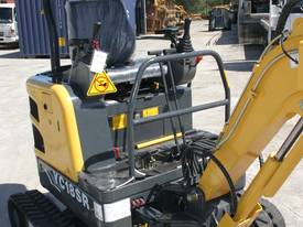 Yuchai YC18SR (Zero Swing) Mini Excavator - picture3' - Click to enlarge