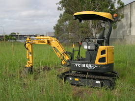 Yuchai YC18SR (Zero Swing) Mini Excavator - picture14' - Click to enlarge