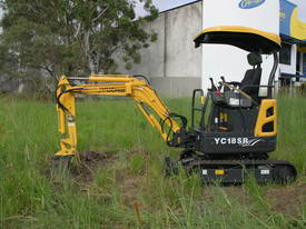 Yuchai YC18SR (Zero Swing) Mini Excavator - picture15' - Click to enlarge