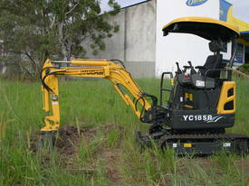 Yuchai YC18SR (Zero Swing) Mini Excavator - picture16' - Click to enlarge