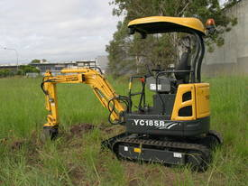 Yuchai YC18SR (Zero Swing) Mini Excavator - picture17' - Click to enlarge