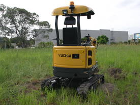 Yuchai YC18SR (Zero Swing) Mini Excavator - picture18' - Click to enlarge