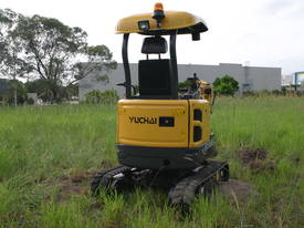 Yuchai YC18SR (Zero Swing) Mini Excavator - picture19' - Click to enlarge