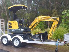 Yuchai YC18SR (Zero Swing) Mini Excavator - picture7' - Click to enlarge