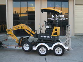 Yuchai YC18SR (Zero Swing) Mini Excavator - picture6' - Click to enlarge