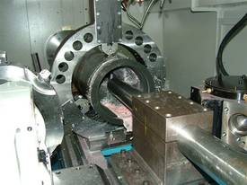 Heavy Duty Flat Bed Kinwa M5 Type CL38 CNC Lathes - picture4' - Click to enlarge