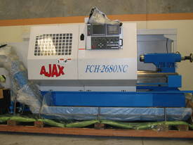 Heavy Duty Flat Bed Kinwa M5 Type CL38 CNC Lathes - picture1' - Click to enlarge