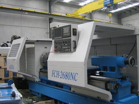 Heavy Duty Flat Bed Kinwa M5 Type CL38 CNC Lathes - picture12' - Click to enlarge