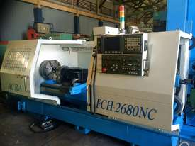 Heavy Duty Flat Bed Kinwa M5 Type CL38 CNC Lathes - picture2' - Click to enlarge