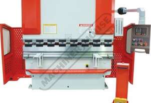 PB-40A Hydraulic NC Pressbrake 44T x 2000mm Estun NC-E21 Control 2-Axis with Hardened Ballscrew Back