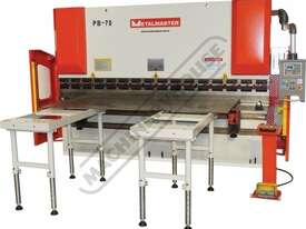 PB-40A Hydraulic NC Pressbrake 44T x 2000mm Estun NC-E21 Control 2-Axis with Hardened Ballscrew Back - picture20' - Click to enlarge