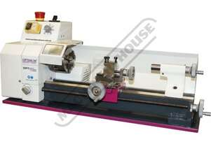 TU-1503V Opti-Turn Bench Lathe - Mini Ø150 x 300mm Turning Capacity - Ø11mm Spindle Bore Electroni