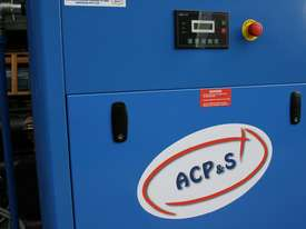 German Rotary Screw - 15hp / 11kW Rotary Air Compressor with Air Receiver Tank - picture3' - Click to enlarge