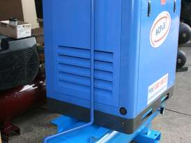 German Rotary Screw - 15hp / 11kW Rotary Air Compressor with Air Receiver Tank - picture4' - Click to enlarge