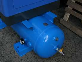 German Rotary Screw - 15hp / 11kW Rotary Air Compressor with Air Receiver Tank - picture5' - Click to enlarge