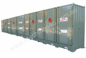 Relocatable Dangerous Goods Storage 16400 Litre