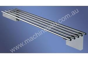 Simply Stainless S/Steel Pipe Wall Shelf