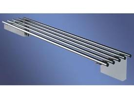 S/Steel Pipe Wall Shelf - picture0' - Click to enlarge