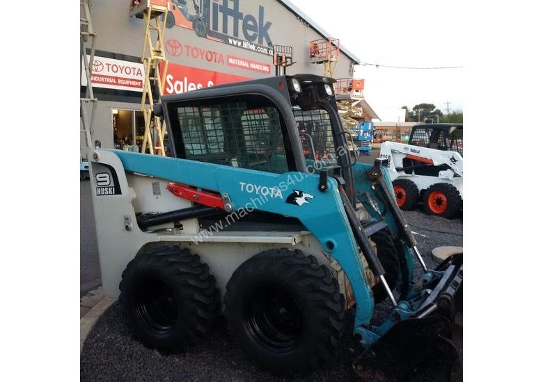 Used 2010 Toyota 5sdk9 Wheeled Skidsteers In Griffith