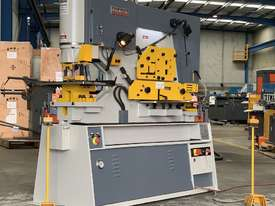 MULTI 125 Ton Twin Cylinder Punch & Shear  - Hydraulic Clamping Included & 10 Sets Tooling - picture0' - Click to enlarge