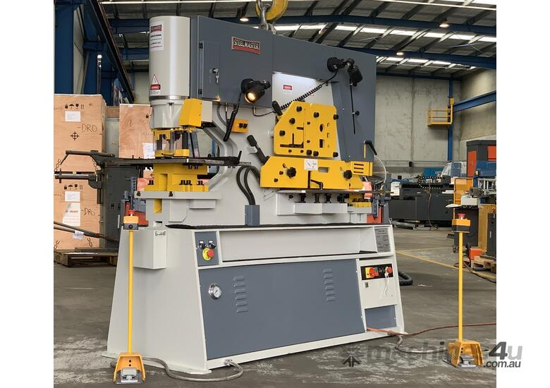MULTI 125 Ton Twin Cylinder Punch & Shear  - Hydraulic Clamping Included & 10 Sets Tooling