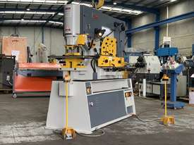MULTI 125 Ton Twin Cylinder Punch & Shear  - Hydraulic Clamping Included & 10 Sets Tooling - picture2' - Click to enlarge
