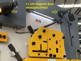 MULTI 125 Ton Twin Cylinder Punch & Shear  - Hydraulic Clamping Included & 10 Sets Tooling - picture3' - Click to enlarge