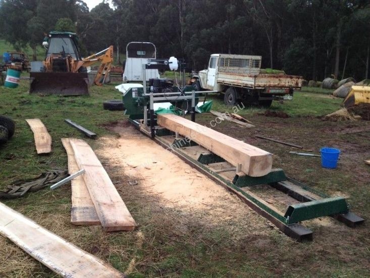 NEW PETROL DRIVEN SAW MILL