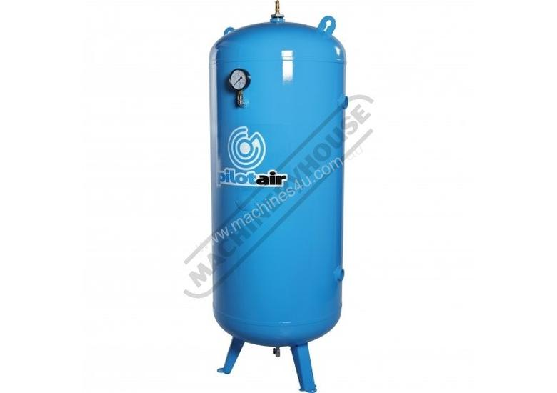31001000 Industrial Vertical Air Receiver 1000 Litre Includes Pressure Gauge