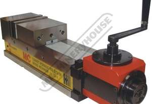 CHV-130V-D Compact Hydraulic Vice - Angle Drive 130mm