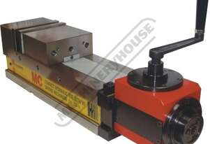 CHV-130V-D Safeway Compact Hydraulic Vice - Angle Drive 130mm Jaw Width 180mm Jaw Opening