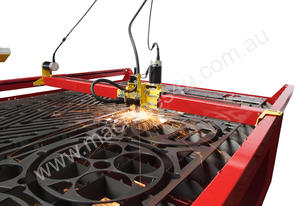 PIERCE 25mm THICK - CNC PLASMA WITH POWERMAX 125