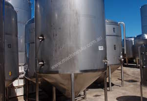 Stainless Steel Mixing Tank - Capacity 4,000 Lt.