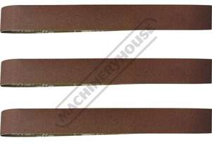 A8001 60G Aluminium Oxide Linishing Belt Pack 915 x 50mm (36