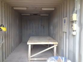 20ft Sand Blasting Booth