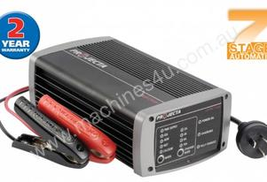 AUTOMATIC 12V 10A 7 STAGE BATTERY CHARGER