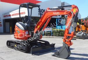 U25 ZAPII 2.2 Ton MINI Excavator Expandable tracks