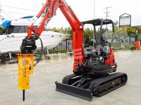U25 ZAPII 2.2 Ton MINI Excavator Expandable tracks - picture5' - Click to enlarge