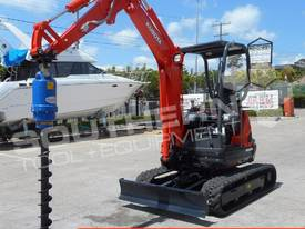 U25 ZAPII 2.2 Ton MINI Excavator Expandable tracks - picture6' - Click to enlarge