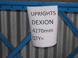 Dexion Upright 4270mm Pallet Racking - picture1' - Click to enlarge