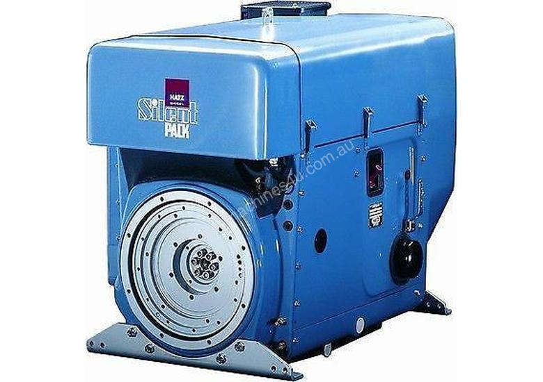 HATZ Air-Cooled 3-Cylinder sel 55HP Silent Pack on