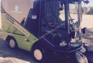 USED - Tennant Green Machine 636HS Sweeper