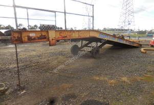 Tieman 10T Mobile Loading Ramp
